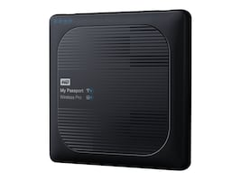 WD 2TB WD My Passport Wireless Pro Drive, WDBP2P0020BBK-NESN, 32213191, Network Attached Storage