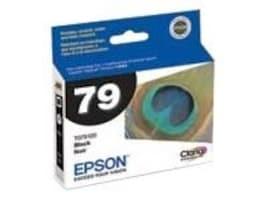 Epson Black 79 Ink Cartridge for Stylus Photo 1400, T079120, 7415031, Ink Cartridges & Ink Refill Kits - OEM