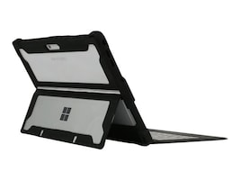 Max Cases MAX Extreme Shell for Microsoft Surface Surface Pro, Black Clear, MS-ES-SP-G5-BLK, 35451709, Carrying Cases - Tablets & eReaders