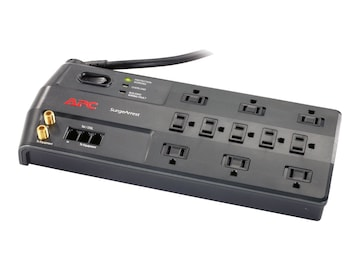 APC Performance SurgeArrest, 3020 Joules, Tel Splitter, Coax, (11) Outlets, P11VT3, 8342144, Surge Suppressors