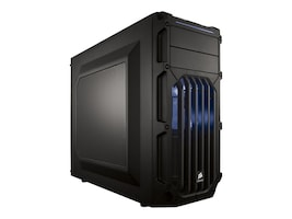 Corsair Chassis, Graphite Series 03, Blue, CC-9011058-WW, 30912529, Cases - Systems/Servers