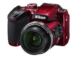 Nikon COOLPIX B500 Digital Camera, Red, 26508, 32555385, Cameras - Digital
