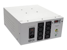 Tripp Lite Isolator Series Dual-Voltage 115 230V 1000W Medical Isolation Transformer, C14 Inlet (8) C13 Outlets, IS1000HGDV, 35381333, Power Converters