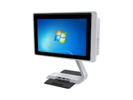 Pioneer Up Base for T3 Model, Swivel, Flip, (2) USB, T3-UPB101, 34205442, POS Pole Displays