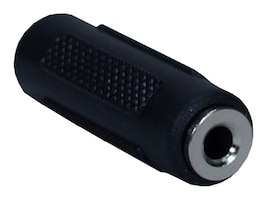 QVS 3.5mm Mini-Stereo Female to Female Coupler, CC400-FF, 16745525, Adapters & Port Converters