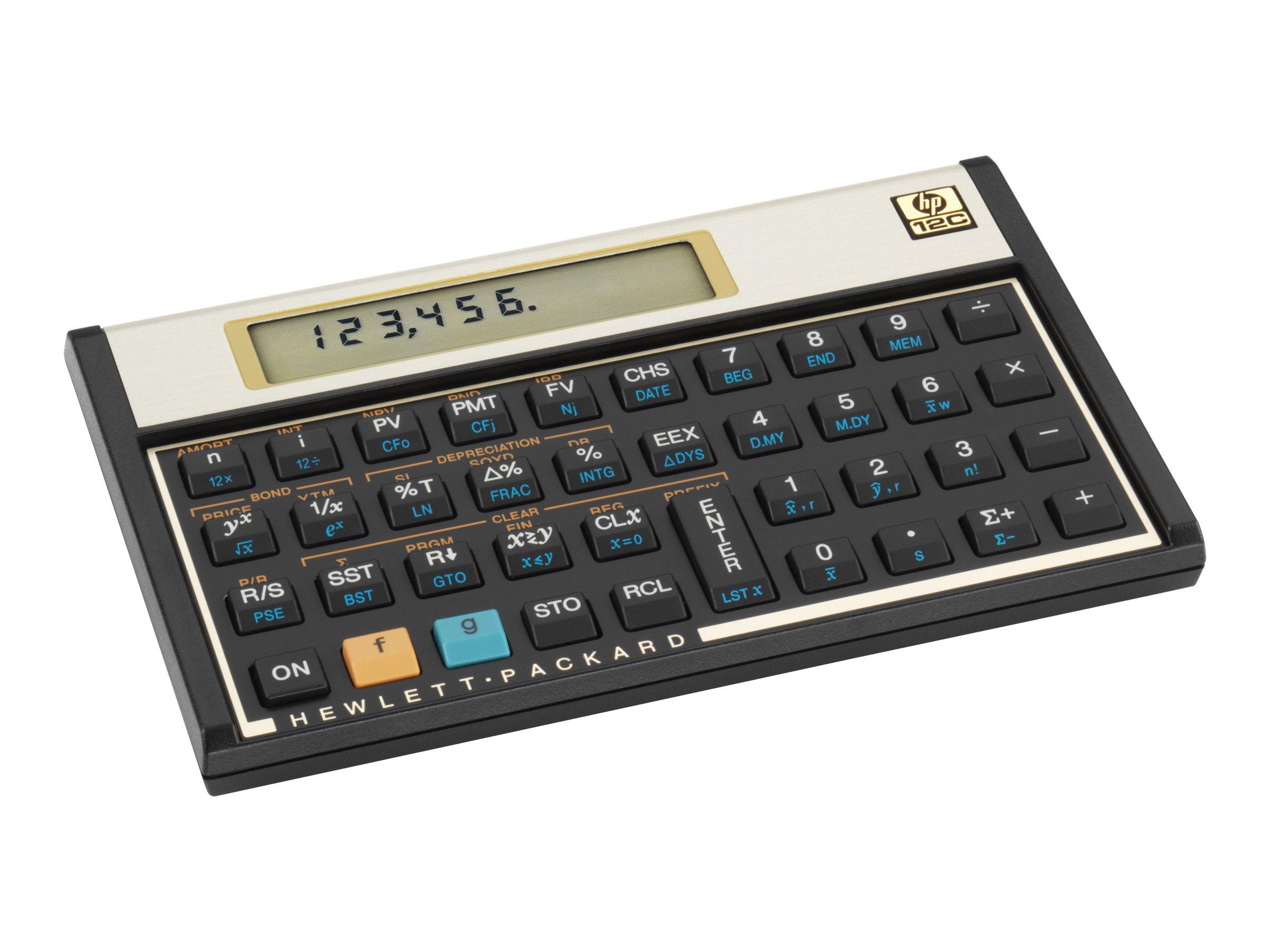 HP Business Calculator 12C#ABA Calculators Financial & Business ...