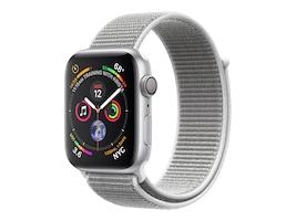 Apple Watch Series 4 GPS, 44mm Silver Aluminum Case, Seashell Sport Loop, MU6C2LL/A, 36142271, Wearable Technology - Apple