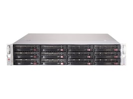 Supermicro Chassis, SuperChassis 826BE1C-R741JBOD 2U RM 12x3.5 HS Bays 2x740W, CSE-826BE1C-R741JBOD, 32391421, Cases - Systems/Servers