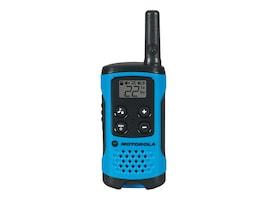 Motorola T100TP Two Way Radios - Blue (3-pack Brown Box), T100TP, 34630828, Two-Way Radios