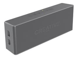 Creative Labs Creative Muvo 2 Speaker - Gray, 51MF8255AA003, 35860983, Speakers - Audio