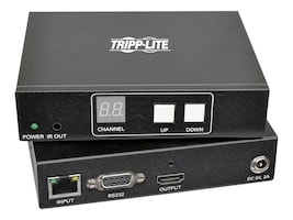 Tripp Lite HDMI DVI Audio Video with RS-232 Serial and IR Control over IP Extender Kit, 1920 x 1080 @60Hz, B160-101-HDSI, 33217610, Video Extenders & Splitters