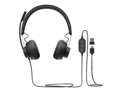 Logitech UC Zone Wired Headset, 981-000876, 38350330, Headsets (w/ microphone)