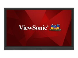 ViewSonic 75 ViewBoard 4K Ultra HD LED-LCD Touchscreen Display, Black, IFP7560, 36224962, Monitors - Large Format - Touchscreen
