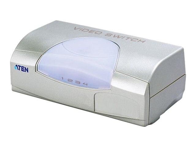 Aten 4-Port Video Switch, VS491, 5862558, Switch Boxes - AV