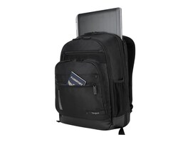 Targus Revolution Backpack 14 w  S Black, TEB012US, 33911927, Carrying Cases - Other