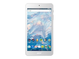 Acer Iconia B1-790-K46E Burst MT8163 1.3GHz 1GB 8GB eMMC abgn BT 2xWC 7 HD MT Android 6.0 White, NT.LDXAA.001, 37315495, Tablets