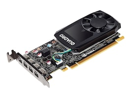 HP NVIDIA Quadro P600 PCIe 3.0 x16 Graphics Card, 2GB GDDR5, 1ME42AT, 34715004, Graphics/Video Accelerators