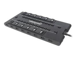 Manhattan MondoHub II 28-Port USB Hub w  AC Adapter, Black, 163606, 34502252, USB & Firewire Hubs
