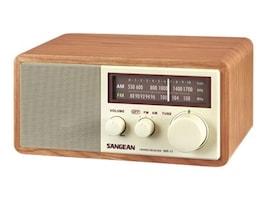 Sangean AM FM Wooden Cabinet Table-Top Radio, WR-11, 10016372, Clock Radios