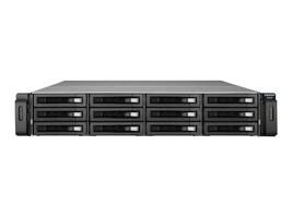 Qnap 12-Bay SAS 6Gb s Enteprise Storage Expansion Enclosure, REXP-1210U-RP-US, 35381579, Hard Drive Enclosures - Multiple