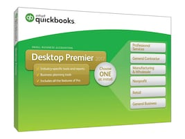 Intuit QuickBooks Desktop Premier 2017, 428278, 32961914, Software - Financial