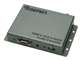 Gefen HDMI and VGA to 3GSDI Scaler Converter, EXT-HDVGA-3G-SC, 18238560, Adapters & Port Converters