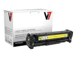 V7 CC532A Yellow Toner Cartridge for HP LaserJet CP2025 (TAA Compliant), THY22025, 13714926, Toner and Imaging Components