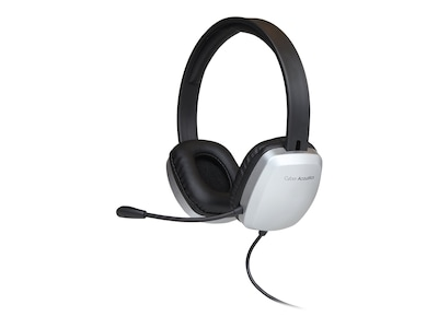 Cyber Acoustics AC-6010 Universal Headset, AC-6010, 33756525, Headsets (w/ microphone)