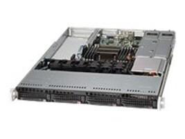 Supermicro SuperChassis, 1U RM, EATX, 4x3.5 SAS SATA HS, 3xSlots, 500W PS, CSE-815TQ-R500WB, 14261703, Cases - Systems/Servers