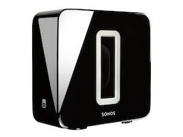 Sonos High Gloss Black Wireless Subwoofer, SUBGBUS1, 32656071, Speakers - Audio