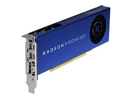 Dell Radeon Pro WX 3100 PCIe 3.0 x16 Graphics Card, 4GB GDDR5, 490-BDZW, 35856319, Graphics/Video Accelerators