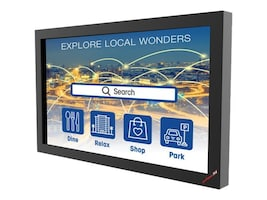 Peerless-AV Xtreme Outdoor IR Touch Overlay for 55 Xtreme High Bright Outdoor Displays, IRTO55-200, 36823711, Monitor & Display Accessories - Large Format
