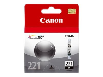 Canon Black CLI-221 Ink Tank, 2946B001, 9066479, Ink Cartridges & Ink Refill Kits - OEM