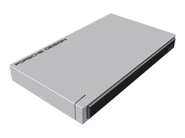 Lacie 2TB Porsche Design USB 3.0 2.5 Mobile Hard Drive w  USB-C Cable, STET2000403, 35324611, Hard Drives - External
