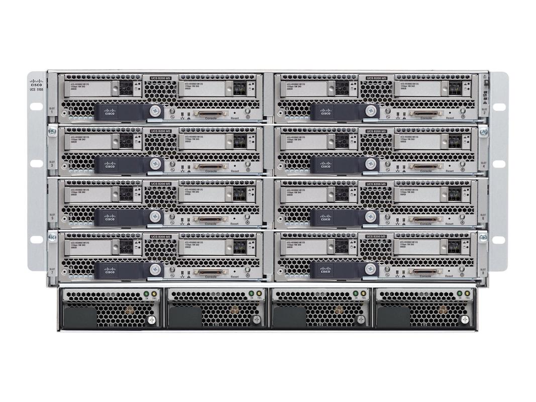 Cisco UCS EZ Bundle 5108 Blade Server Chassis 2xIOM 4xPower Supplies