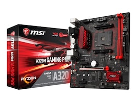 Microstar Motherboard, A320M Gaming Pro, A320M GAMING PRO, 33828381, Motherboards