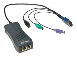 Lantronix 1-Port PS 2 Remote KVM, KVM IP Spider, SLS200PS20-01, 7542347, KVM Switches