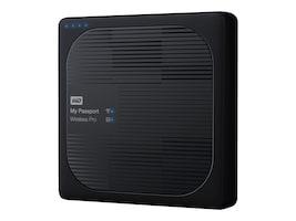 WD 4TB WD My Passport Wireless Pro Drive, WDBSMT0040BBK-NESN, 33869474, Network Attached Storage
