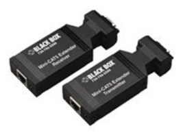 Black Box Mini Cat5 VGA Receiver, AC602A, 6499130, Video Extenders & Splitters
