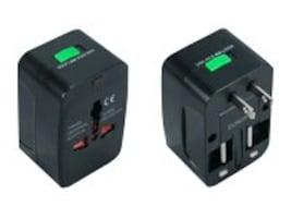 QVS Premium World Power Travel Adapter w  Surge Protection, PA-C3, 15146580, AC Power Adapters (external)