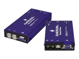 Avocent Longview Single VGA USB Audio Catx 300m, LV3010P-001, 30712623, KVM Switches