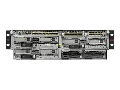 Cisco FirePower 9300 AC 3RU Chassis (0 PSU, 4 Fans)