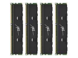 PNY 16GB PC3-12800 240-pin DDR3 SDRAM DIMM Kit, MD16384K4D3-1600-X9, 13769281, Memory