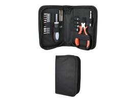 QVS 19-Piece Technician Tool Kit w Kit Wire Cutter, CA216-K2, 31196237, Network Tools & Toolkits
