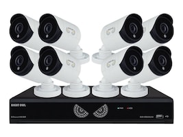 Night Owl 8-Channel 1080 Lite DVR with 1TB HDD, 8x 1080p HD Cameras, B-10LHDA-881-1080, 32191577, Video Capture Hardware