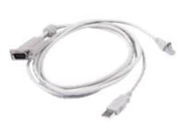 Raritan USB KVM Cable, 6.5ft, MCUTP20-USB, 9676841, Cables