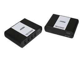 Aten 4-Port Cat 5 USB 2.0 Extender, UEH4002, 14641431, Video Extenders & Splitters