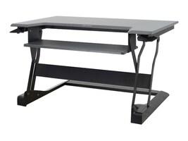 Ergotron WorkFit-T Sit-Stand Desktop Workstation, Black, 33-397-085, 18161873, Furniture - Miscellaneous
