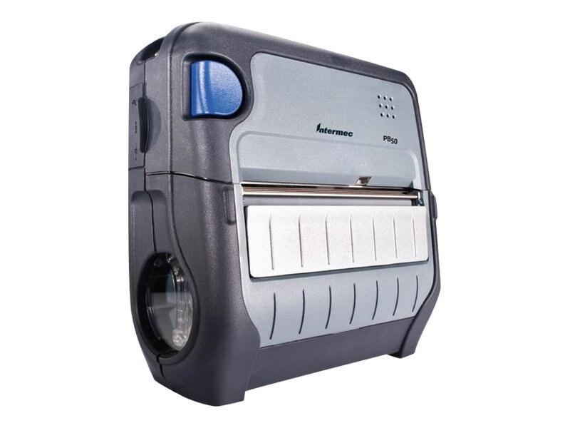 Intermec PB50 FP WLAN FCC Portable Printer, PB50B12804100, 30551057, Printers - POS Receipt