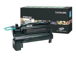 Lexmark Black Extra High Yield Return Program Toner Cartridge for X792 Series MFPs, X792X1KG, 12118188, Toner and Imaging Components